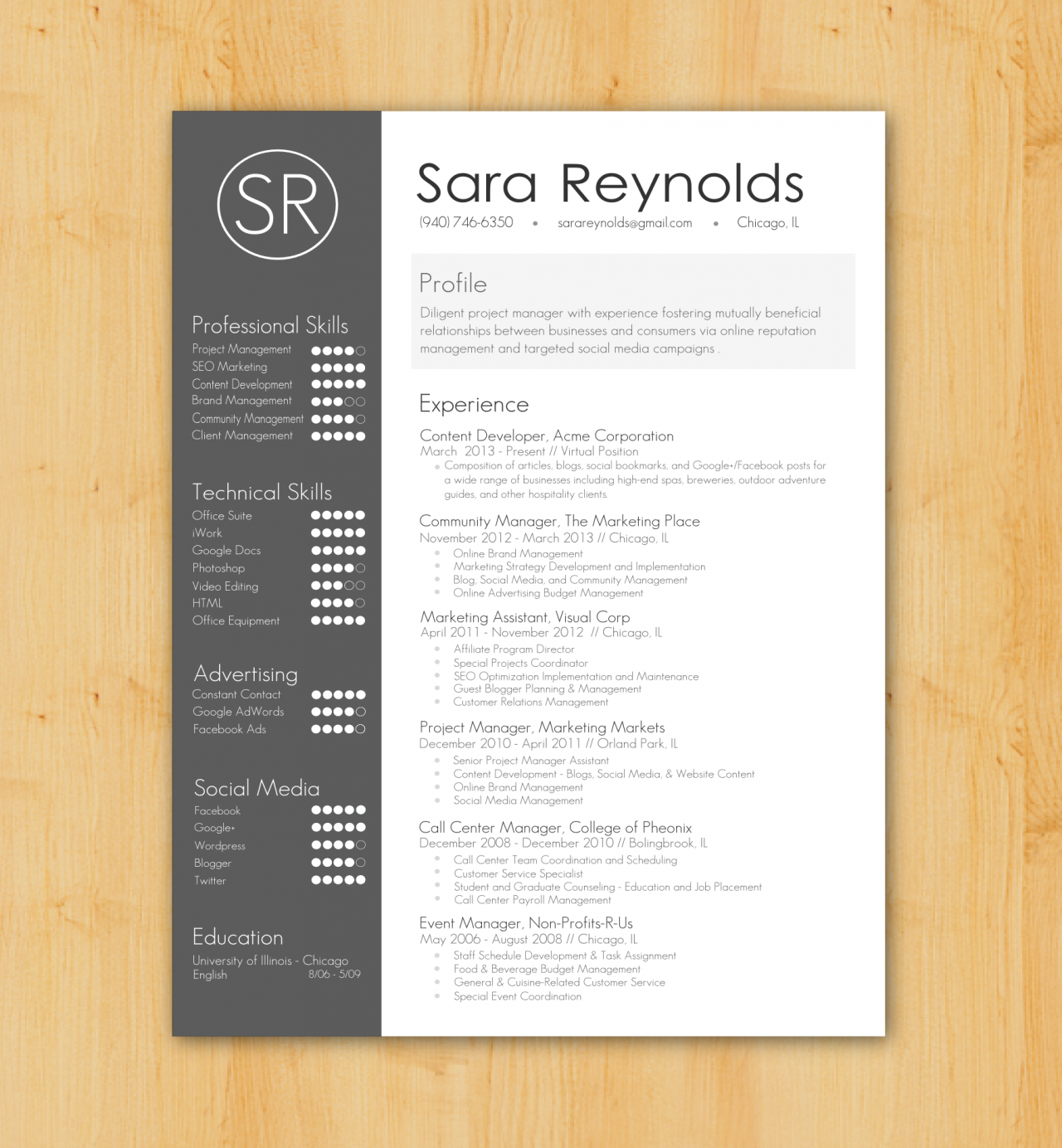 Custom Resume Writing U0026 Design