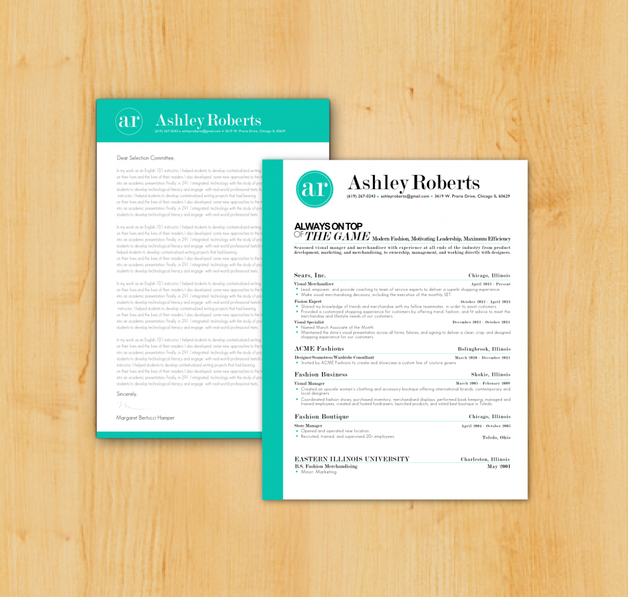 Custom resume writing with cover letter