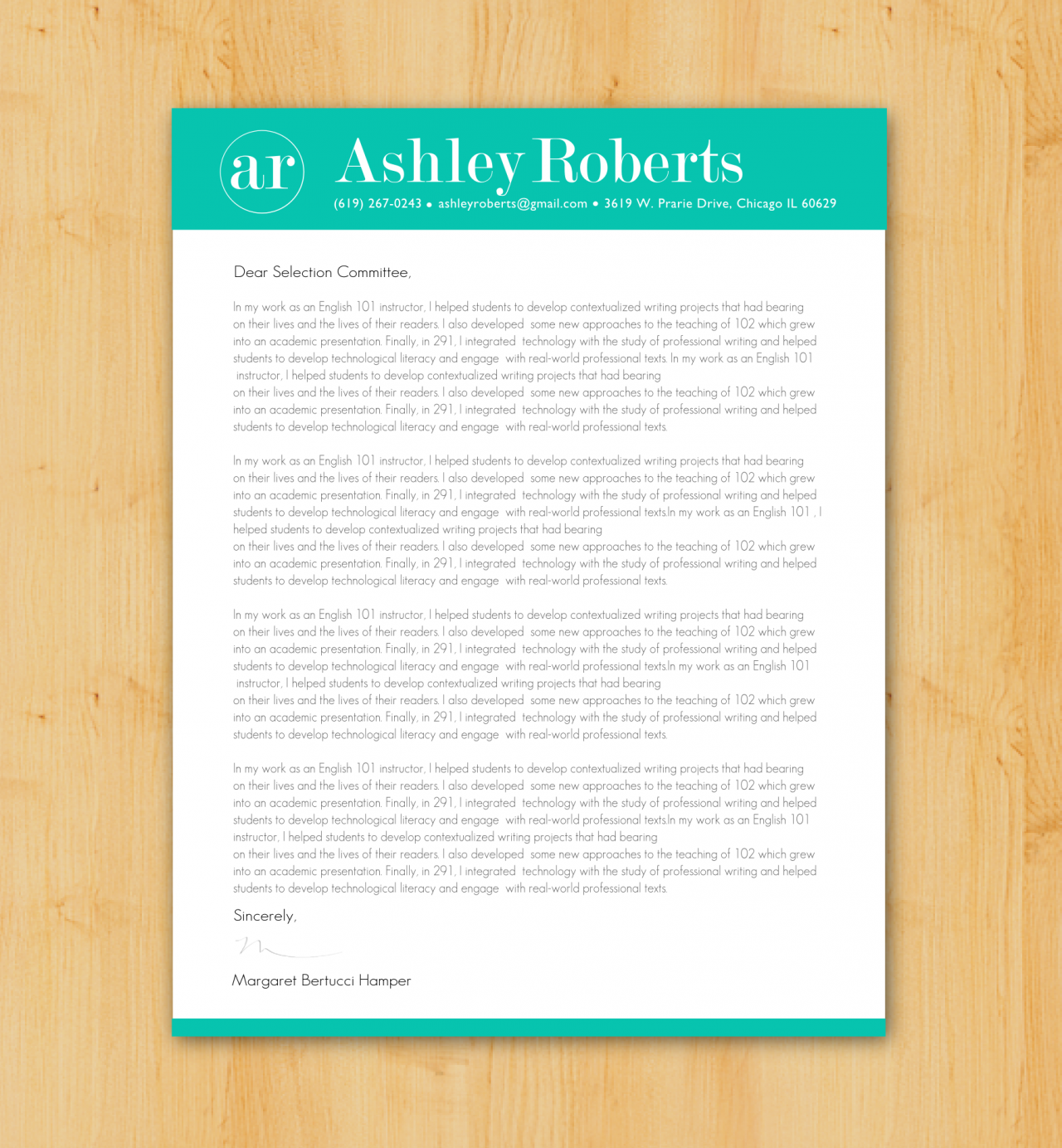 Admissions Essay (graphic designer) Essay Sample